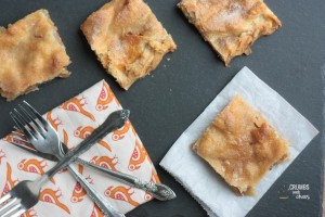 Danish Pastry Apple Bars | Crumbs and Chaos #apples #fall www.crumbsandchaos.net