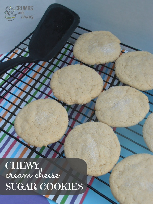 Chewy Cream Cheese Sugar Cookie