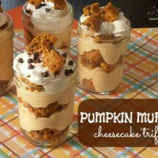 Pumpkin Muffin Cheesecake Trifle | crumbsandchaos.net | #pumpkin #cheesecake #trifle #dessert