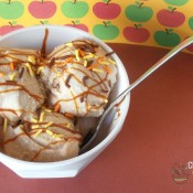 Apple Cider Ice Cream | crumbsandchaos.net | #icecream #apple #dessert #fall