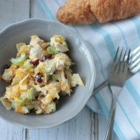 Hot Turkey Salad | Crumbs and Chaos #turkey #Thanksgiving www.crumbsandchaos.net