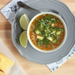 Pork Chili Verde | Crumbs and Chaos #soup #comfortfood www.crumbsandchaos.net