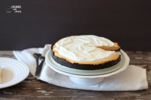 Pumpkin Cream Tart | Crumbs and Chaos #holiday #dessert #holiday www.crumbsandchaos.net