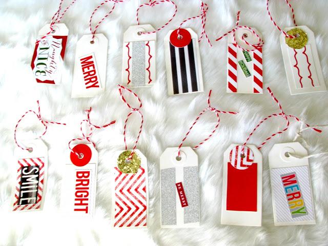 Christmas tags 5