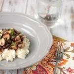 Tender Pot Roast with Mushrooms & Mashed Potatoes   Crumbs and Chaos #comfortfood #CampbellsSkilledSaucers