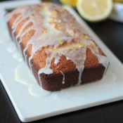 Glazed Lemon Bread | Crumbs and Chaos