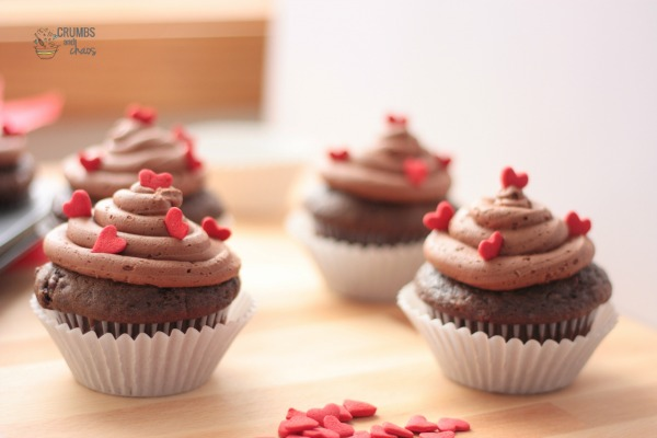 One Bowl Chocolate Cupcakes | Crumbs and Chaos