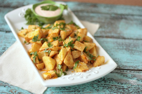 Simple Southwest Potatoes {Alexia Blog Party + Giveaway}