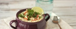 Thai Coconut Soup | Crumbs and Chaos