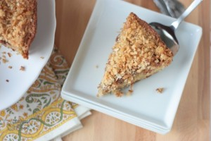 Coconut Coffee Cake | Crumbs and Chaos