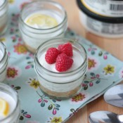 Lemon Cheesecake Mousse Cups | Crumbs and Chaos