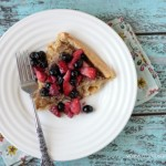 Cinnamon Dutch Baby with Maple Berries | Crumbs and Chaos