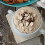 Hot Fudge Malt Dip | Crumbs and Chaos