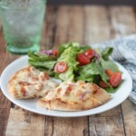 Chicken Bacon Ranch Pita Pizza | Crumbs and Chaos