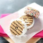 Mini Ice Cream Sandwiches | Crumbs and Chaos