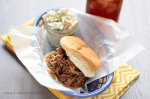 Best Slow Cooker Pulled Pork | recipe on www.crumbsandchaos.net