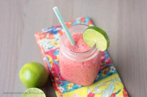 Frosty Watermelon Limeade | recipe on crumbsandchaos.net