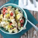 Greek Potato Salad | Crumbs and Chaos