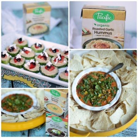 Quick and Easy Appetizers with Pacific Foods