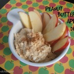 Peanut Butter Apple Dip | crumbsandchaos.net | #apple #peanutbutter #dip #afterschool #snack