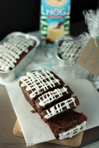 Double Chocolate Eggnog Bread