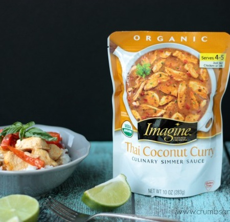 Thai Coconut Curry with Lime Basil Rice