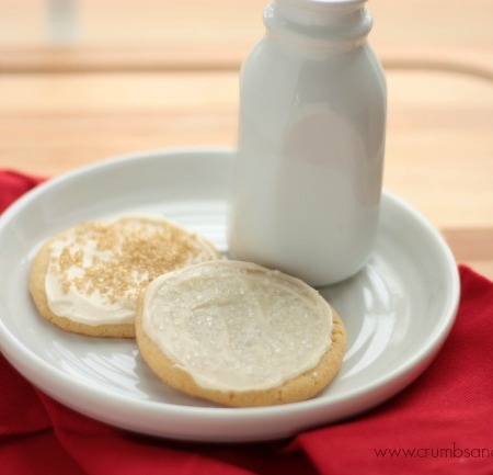 Soft Maple Sugar Cookies