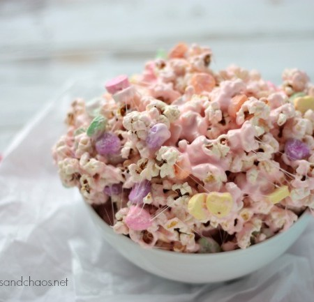 Gooey Marshmallow Popcorn {+ a Party Popcorn giveaway}