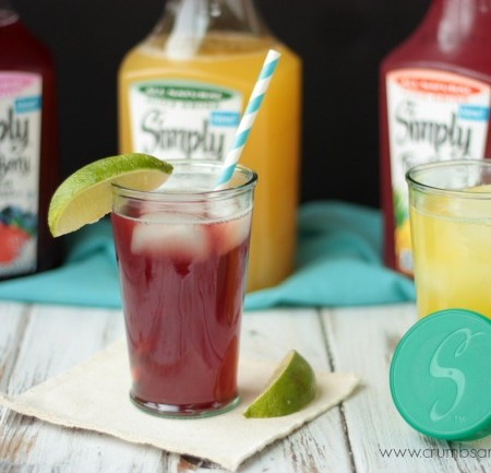 Mixed Berry Iced Tea {+ a giveaway}