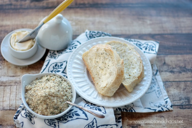 All Purpose Garlic Parmesan Seasoning | Crumbs and Chaos