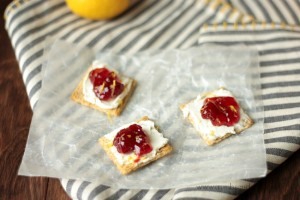 Cherry Cheesecake Bites | Crumbs and Chaos