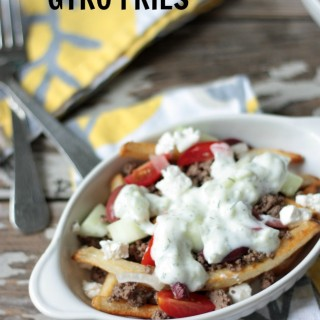 Greek Gyro Fries