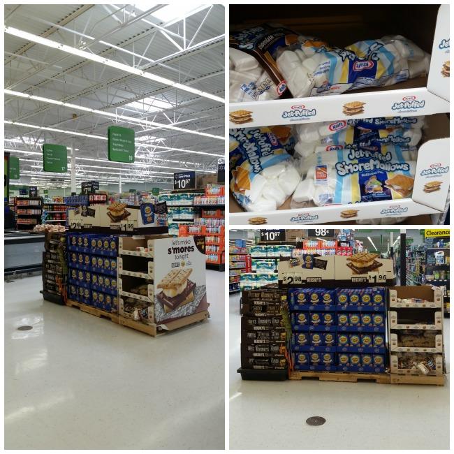 Walmart smores collage