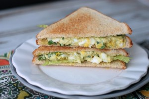 Southwest Egg Salad | recipe by Crumbs and Chaos