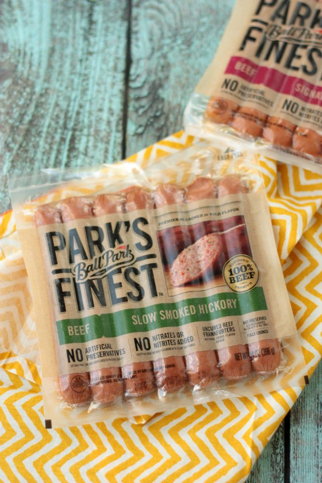 Ball Park Park's Finest - perfect for your next BBQ!