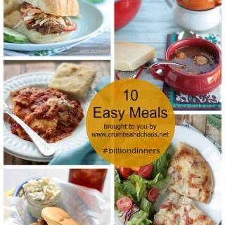 10 Easy Meals for Dinnertime