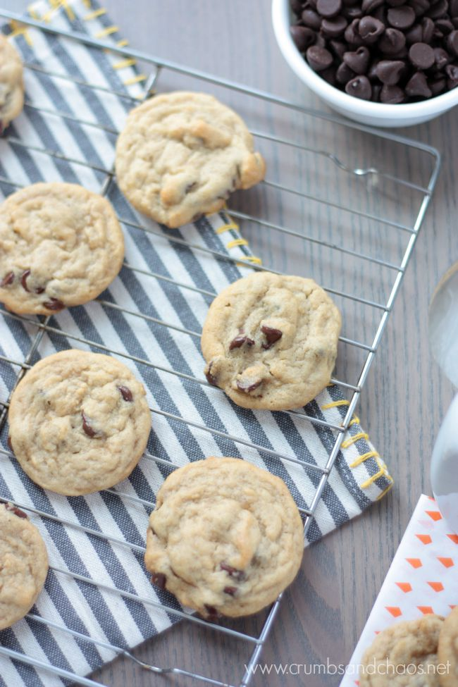 Brown Sugar Chocolate Chip Cookies | Crumbs and Chaos