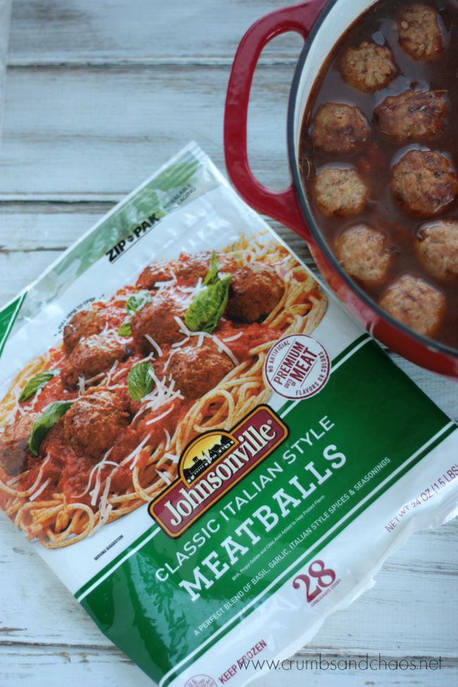 Johnsonville Italian Style Meatballs