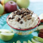 Peanut Butter Cup Apple Dip | Crumbs and Chaos