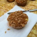 Pumpkin Cheesecake Muffins | crumbsandchaos.net | #pumpkin #muffins #breakfast