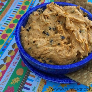 Pumpkin Cookie Dough Dip