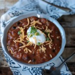 Pumpkin Chili | Crumbs and Chaos