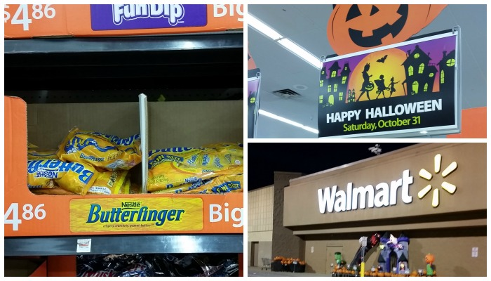 Walmart Butterfinger Collage