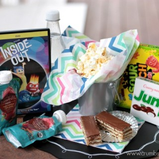 Inside Out Movie Snacks