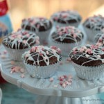 Peppermint Bark Muffins | Crumbs and Chaos