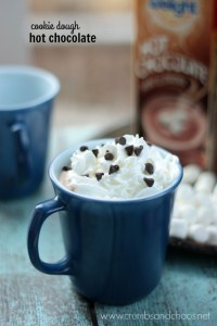 Cookie Dough Hot Chocolate | Crumbs and Chaos