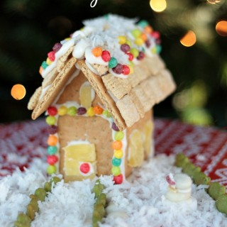 How To Make a Graham Cracker Holiday House