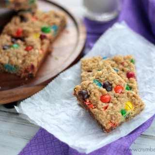 M&M Peanut Butter Dream Bars
