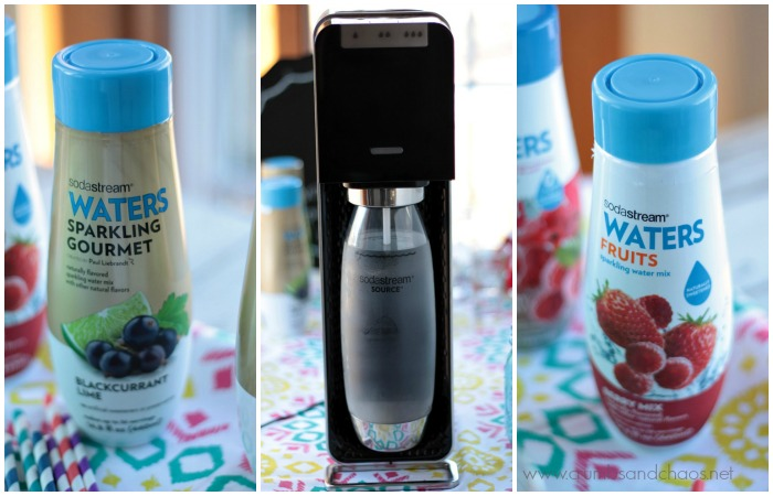 sodastream flavor Collage
