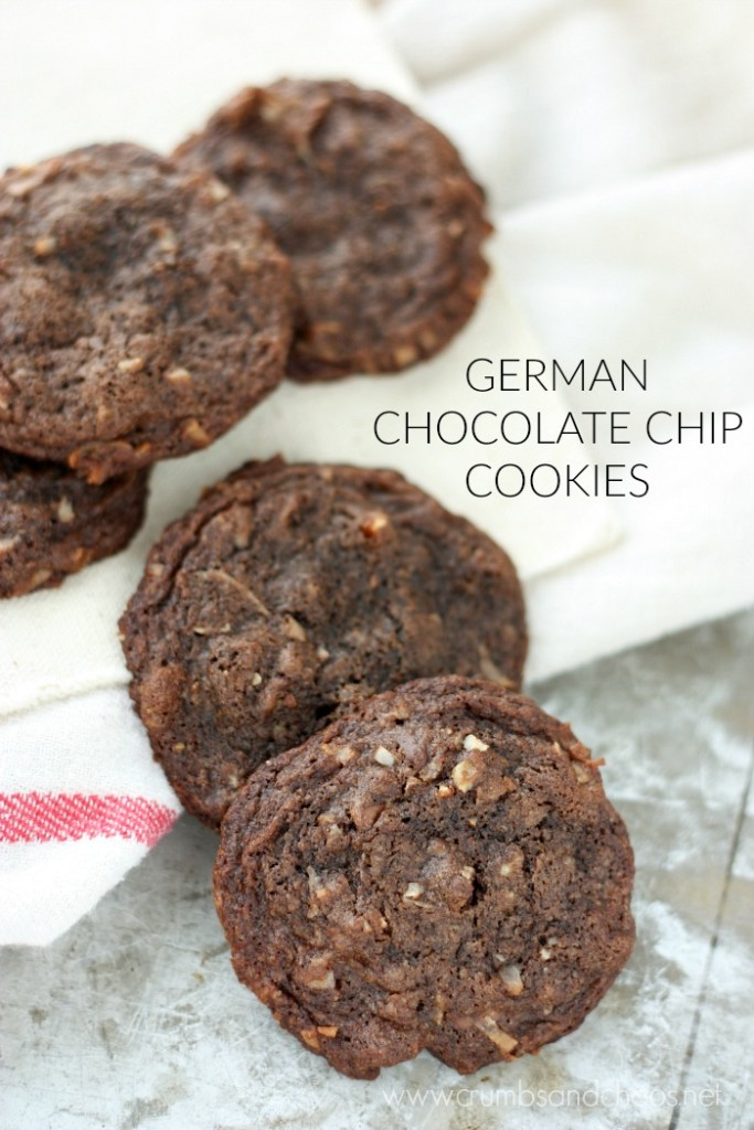 Everything you love about German Chocolate Cake in cookie form!